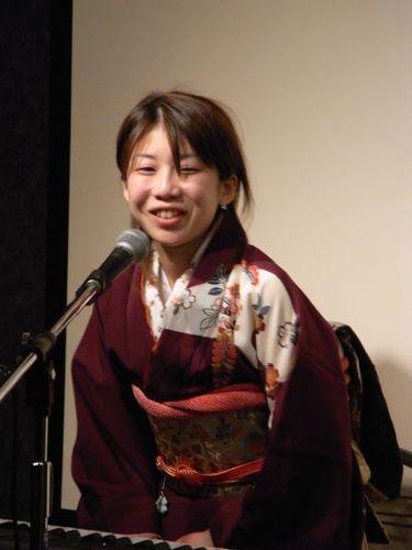 浅羽由紀さん - 2009-01-10@the Throb