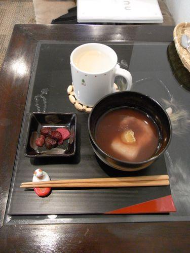 チャイラテ&特製ぜんざい - 猫のまほう・蒲田東口店