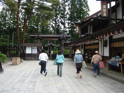 日光江戸村、いざ入場~